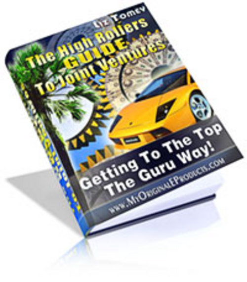 Product picture New! The High Rollers Guide To Joint Ventures