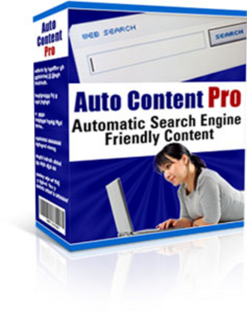 Product picture Auto Content Pro - Business Software (MRR Included)