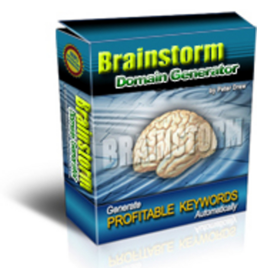 Product picture new Brainstorm Domain Generator Software- PLR Included