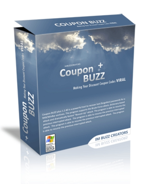 Product picture Coupon Buzz Software - Coupon Code Generator