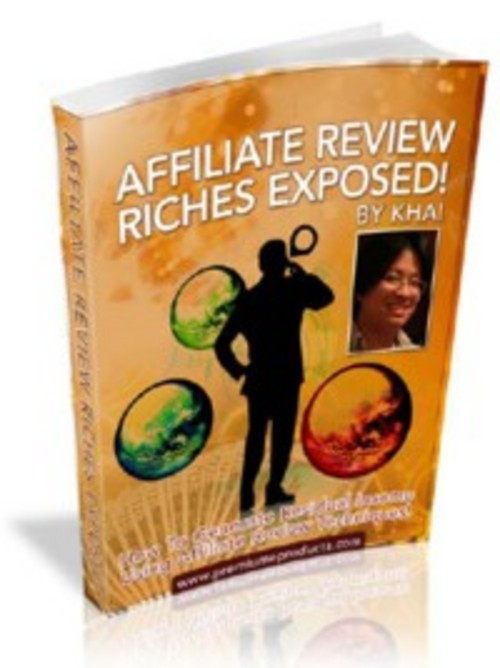 Product picture NEW! Affiliate Review Riches Exposed - MRR Included