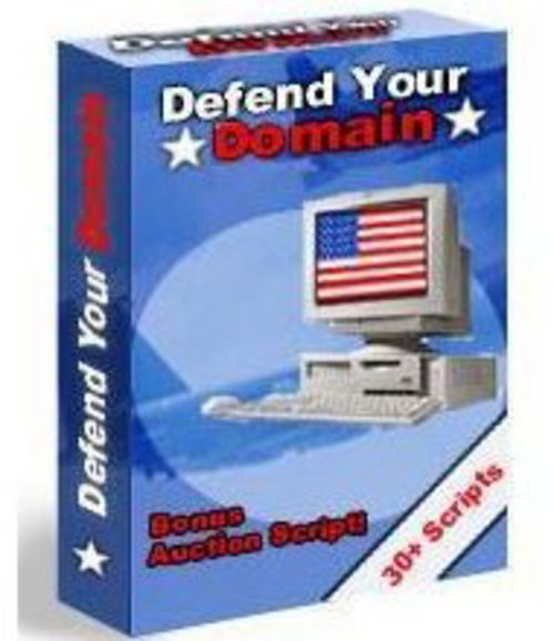 Product picture New! Defend Your Domain - MRR Included