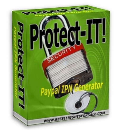 Product picture New! Protect-IT! IPN Generator - MRR Included