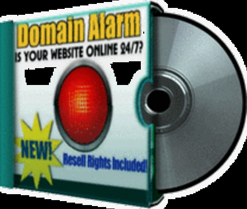 Product picture New! Domain Alarm software with Resell Rights
